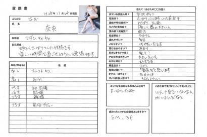 奈央【なお】熟女コースHな履歴書