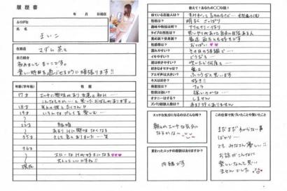 舞子【まいこ】マダムコースHな履歴書