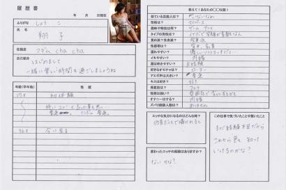 翔子【しょうこ】マダムコースHな履歴書