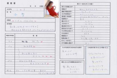 小雪【こゆき】若妻コースHな履歴書
