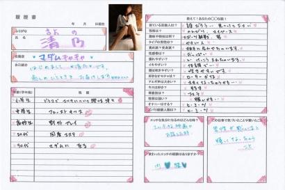 清乃【きよの】マダムコースHな履歴書