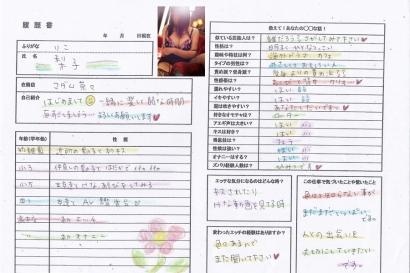 梨子【りこ】マダムコースHな履歴書