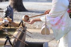 新春祈願・和服乙女妻