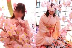 春一番♪桜と着物でひな祭り