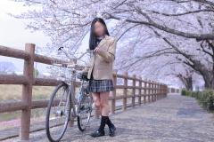 ☆彡萌えキュン♪女子〇生とお花見デート☆彡
