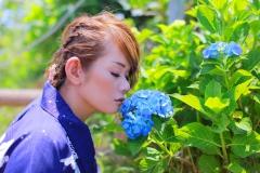 ☆彡妖艶妻が見せる!紫陽花みたいに貴方の色に染まりたい☆彡