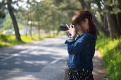 カメラ女子と撮影デート