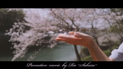 桜吹雪がとても似合う可憐な若妻~桜シネマティックPV~